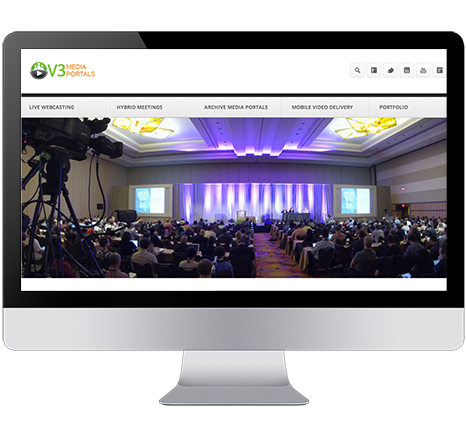 ICV Live Webcasting offers townhall and conference webcasting services,